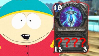 """Hearthstone obtiene la espada """"South Park"""" y es totalmente OP"""