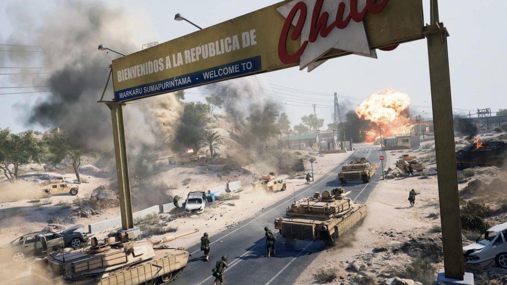 Battlefield 2042 Portal Puerto de Arica