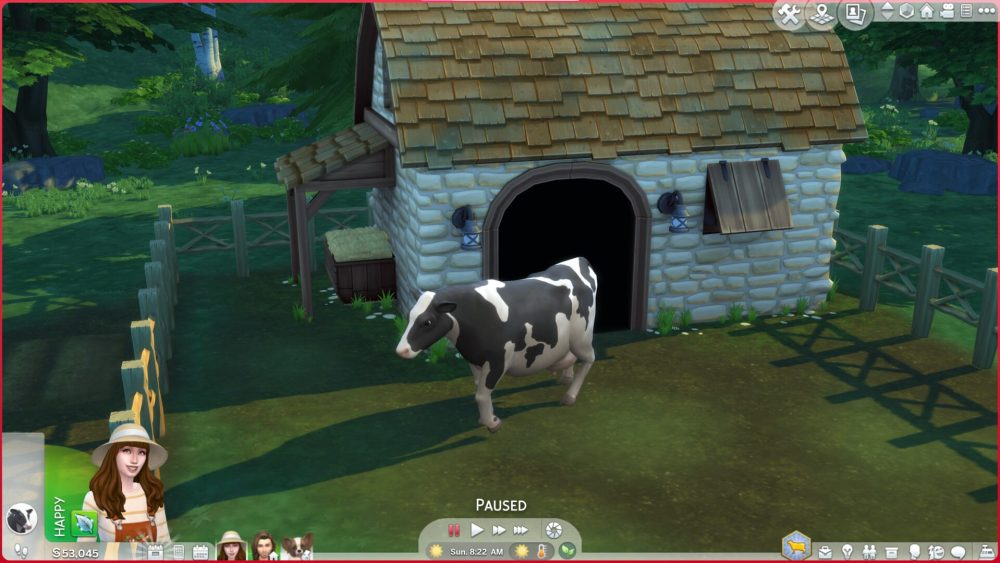 Sims 4 Comprar vacas