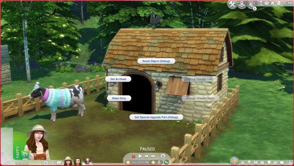 Consejos Sims 4 Cottage Living Vaca Lama