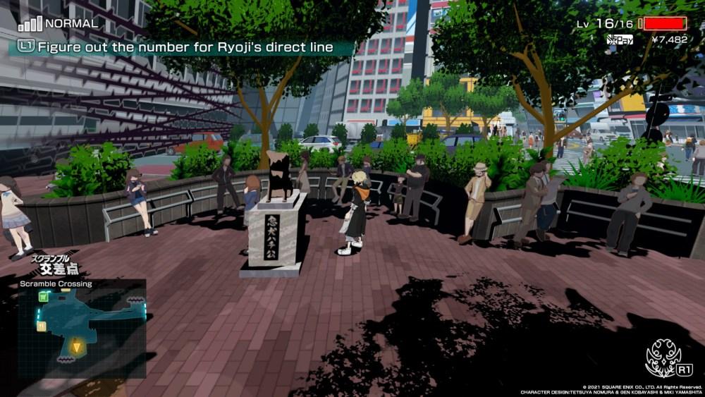 neo el mundo termina contigo ryoji día 4