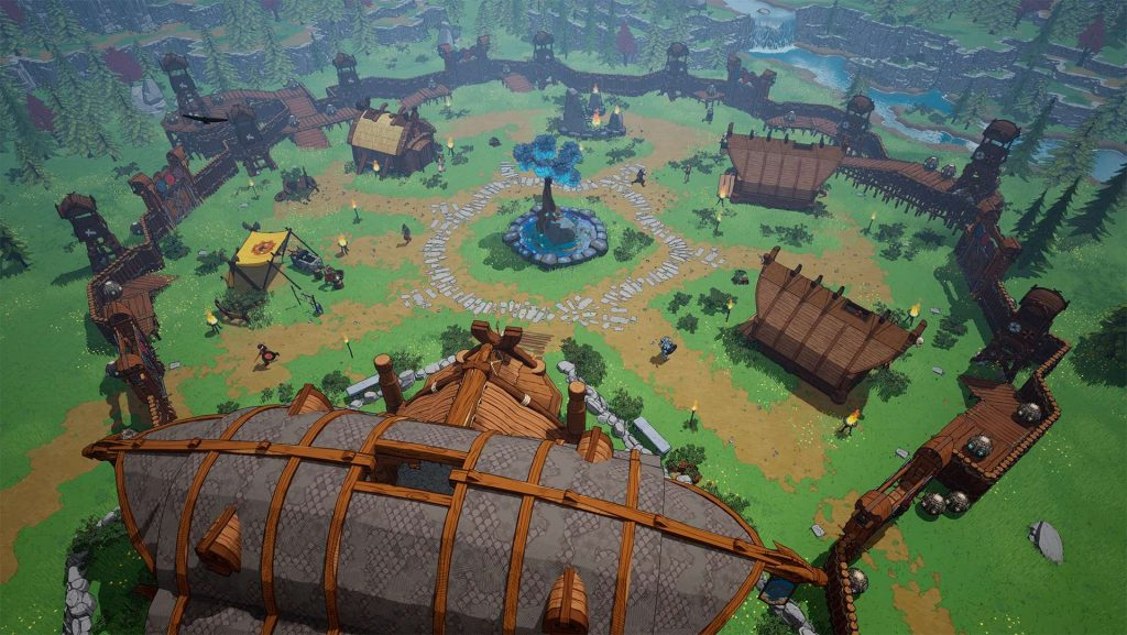 Tribus de la aldea de Midgard