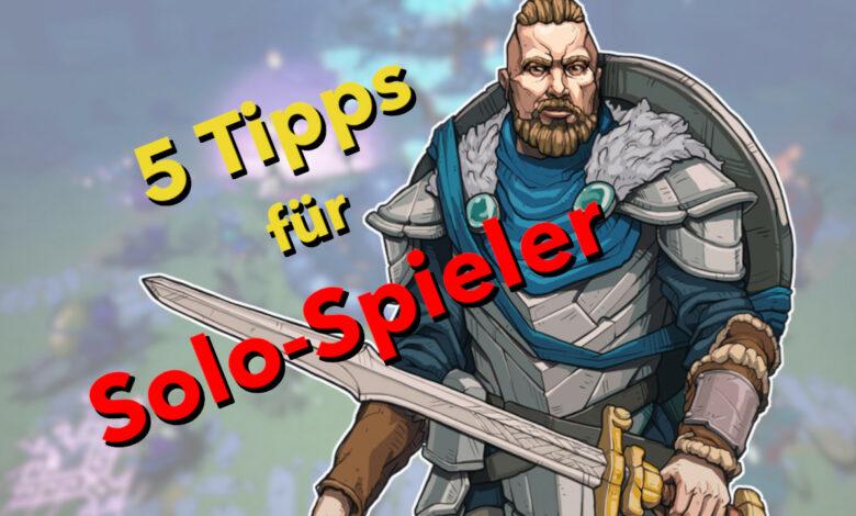 5 consejos para jugadores en solitario en Tribes of Midgard: cómo dominar el juego cooperativo solo