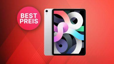 Oferta superior de Amazon: Apple iPad Air 2020 a un precio de martillo