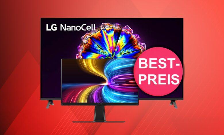 El mejor monitor para juegos y LG Nanocell TV al precio más bajo en Amazon