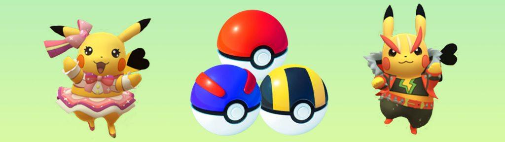 Pokemon Go Fest Pokebolas