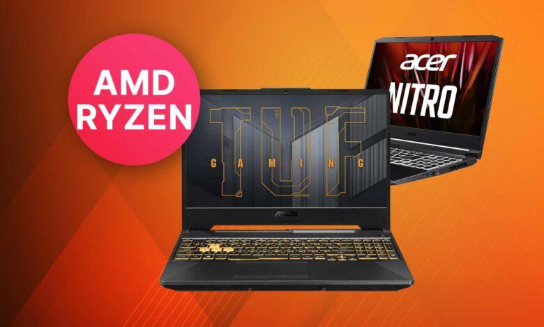Compre los mejores portátiles para juegos con CPU AMD y tarjeta gráfica RTX 3000 en Saturn