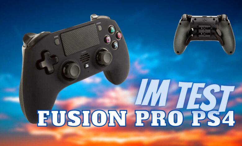 Controlador inalámbrico FUSION Pro para PS4 en la prueba: ¿para quién vale la pena el controlador de 130 €?