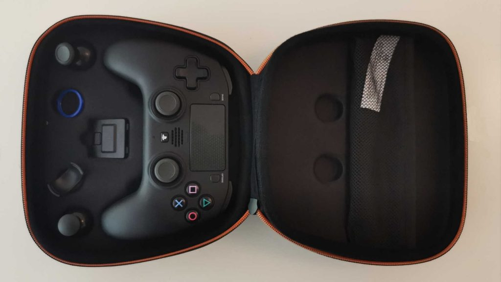 powera fusion pro wireless para ps4 con caja de transporte