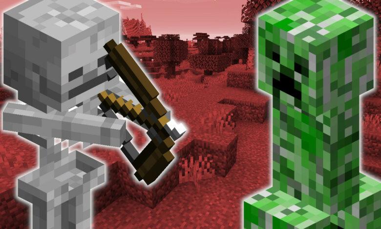 Después de 10 años, Minecraft está cambiando la apariencia de los monstruos