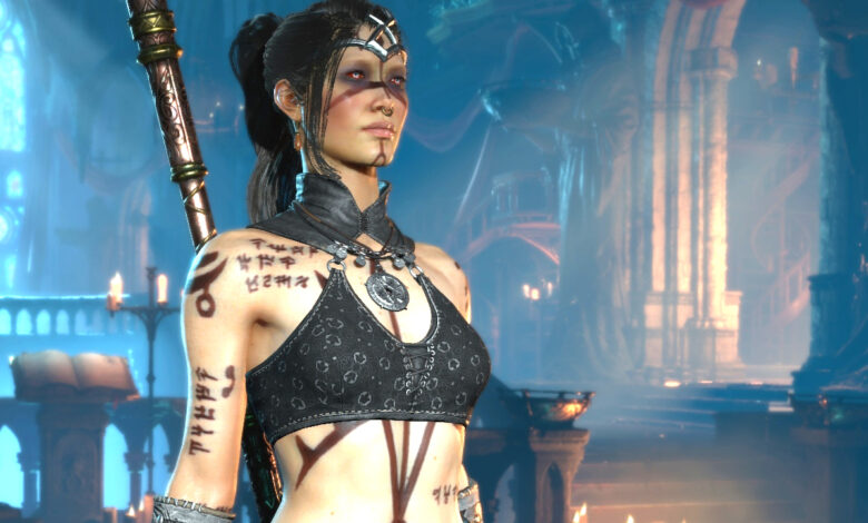 Diablo 4 muestra héroes bonitos y monstruos absolutamente repugnantes: así es exactamente como tienen que ser