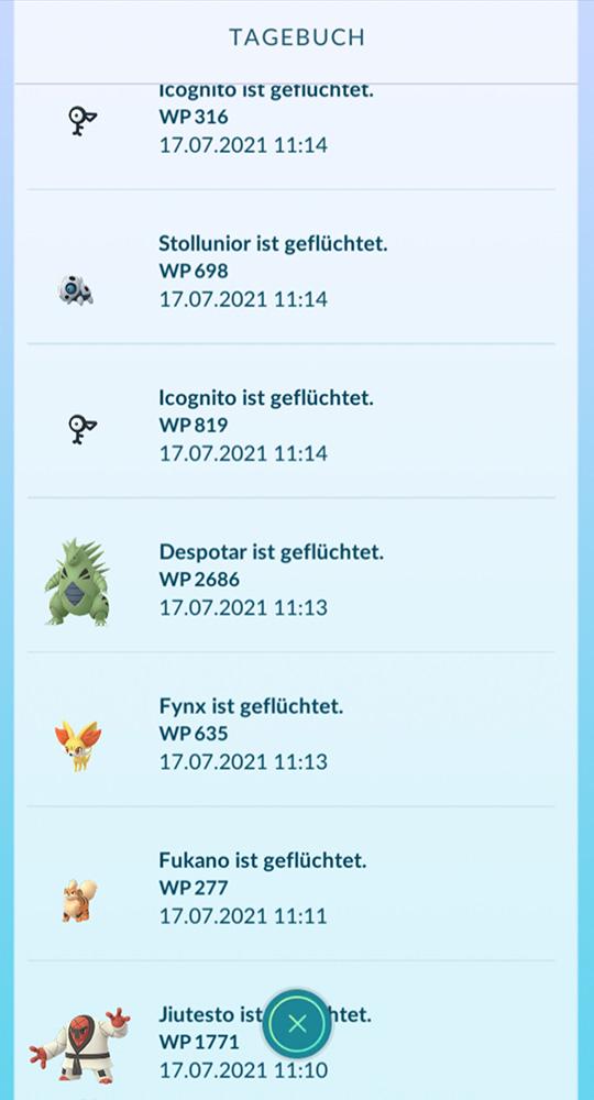 Pokémon GO Plus escapó 1