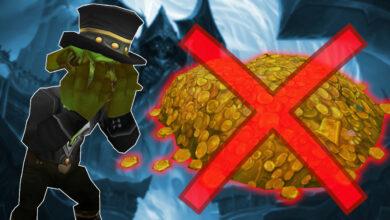 El límite del gremio profesional de WoW pagó 279 millones de oro para perder