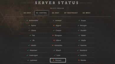 Estado del servidor de New World - ¿Están inactivos los servidores? - Cómo comprobarlo