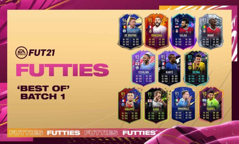 FIFA 21: Batch 1 Best of FUTTIES ahora está disponible en paquetes