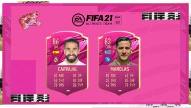 FIFA 21: Carvajal vs Manolas FUTTIES - Votación abierta por cambio de rol