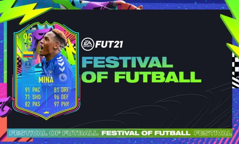 FIFA 21: Goles Yerry Mina Summer Stars - Festival Of FUTball
