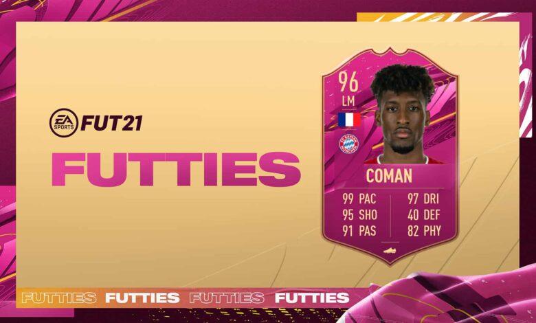 FIFA 21: Kingsley Coman FUTTIES SBC - Conoce los requisitos y las soluciones
