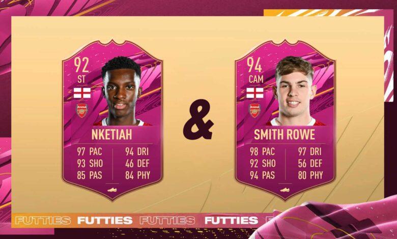 FIFA 21: Rowe & Nketiah FUTTIES Logros Par de ases: descubre los requisitos