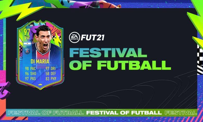FIFA 21: SBC Angel Di Maria Summer Stars - Festival Of FUTball