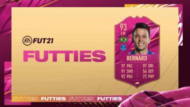 FIFA 21: SBC Bernard FUTTIES - Descubre los requisitos y las soluciones