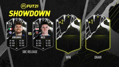 FIFA 21: SBC Jorginho vs Rice Showdown - Descubre los requisitos y las soluciones