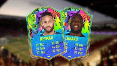 FIFA 21 Summer Stars: Team 2 trae cartas extremadamente fuertes para Neymar y Lukak