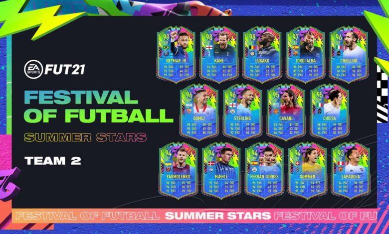 FIFA 21: Team 2 Summer Stars anunciado