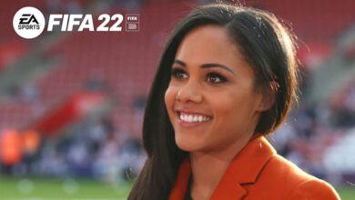FIFA 22: Oficial - Alex Scott será la primera voz femenina de la serie
