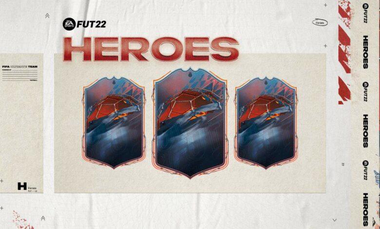 FIFA 22: Revelada la lista de héroes de FUT - Detalles oficiales