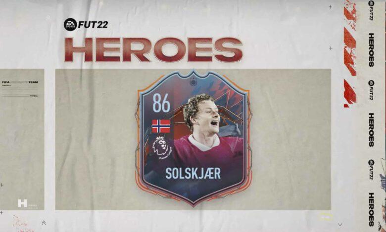 FIFA 22: anunciada la tarjeta de héroe de Ole Gunnar Solskjaer