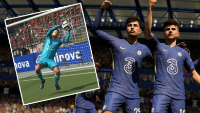 FIFA 22 habla mucho de HyperMotion, pero lo mejor de la prueba son los nuevos porteros