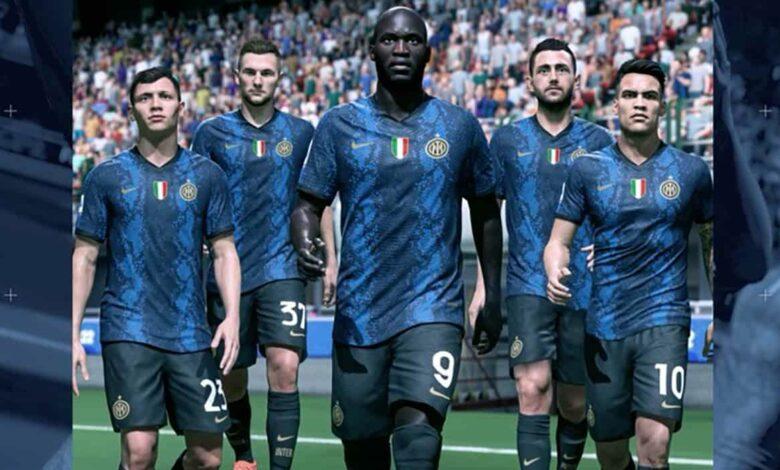 FIFA 22: se revela el uniforme del Inter de Milán para la temporada 2021/22