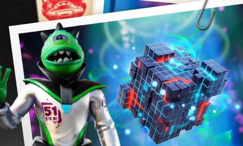 Fortnite trae nuevos nanites alienígenas y un arma mítica, eso es en el parche 17.10