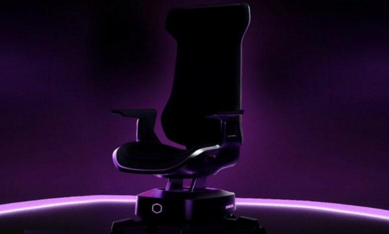 La silla Gaming quiere que sientas juegos y películas directamente, debería costar 1700 euros