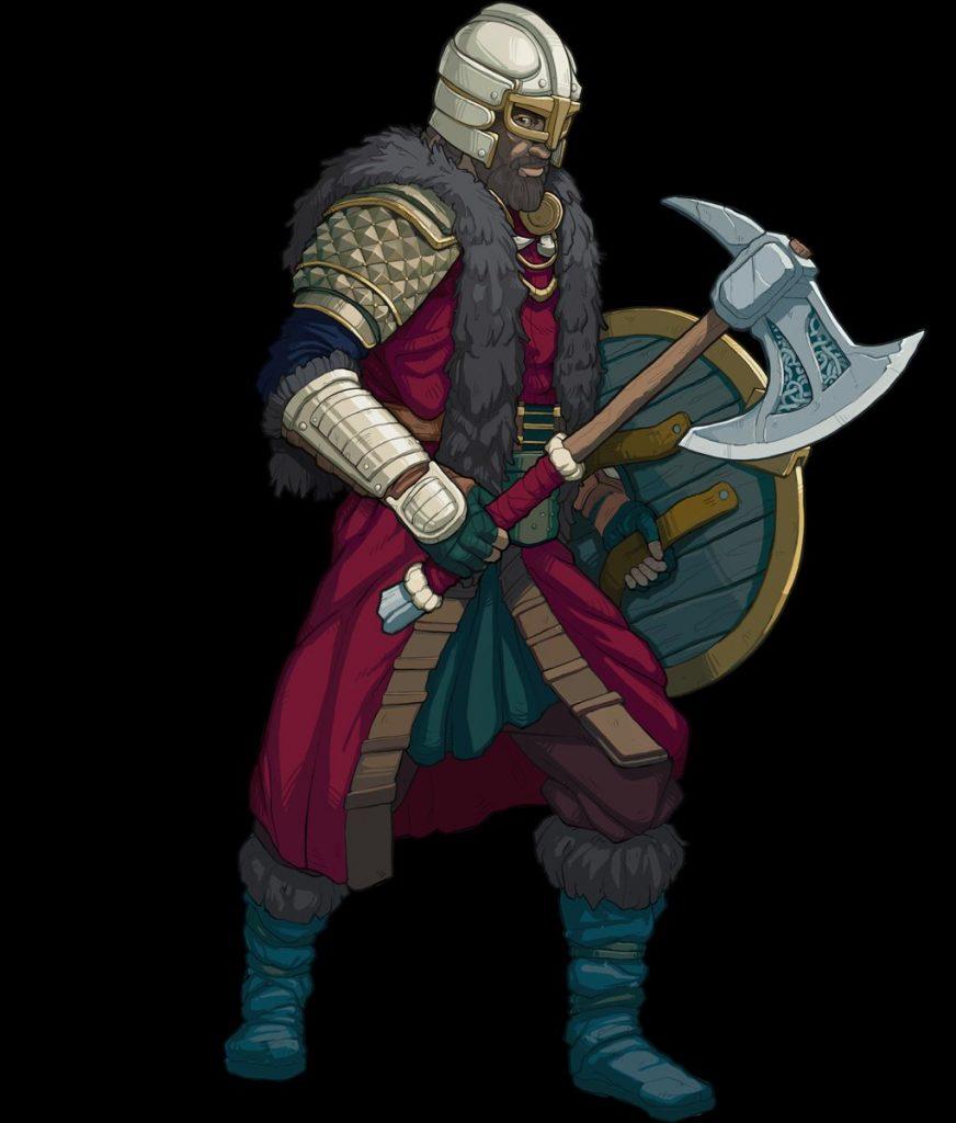 """tribus-of-midgard-warrior """"class ="""" wp-image-700317 """"srcset ="""" http://dlprivateserver.com/wp-content/uploads/2021/07/Las-8-clases-al-comienzo-de-Tribes-of-Midgard-y.jpg 872w , https://images.mein-mmo.de/medien/2021/07/tribes-of-midgard-warrior-256x300.jpg 256w, https://images.mein-mmo.de/medien/2021/07/ tribes-of-midgard-warrior-128x150.jpg 128w, https://images.mein-mmo.de/medien/2021/07/tribes-of-midgard-warrior-768x902.jpg 768w, https: // imágenes. mein-mmo.de/medien/2021/07/tribes-of-midgard-warrior.jpg 1022w """"tamaños ="""" (ancho máximo: 872px) 100vw, 872px """">     <p><strong>¿Qué estilos de juego apoya?</strong> Los guerreros son buenos para los jugadores a los que les gusta hacer mucho daño y quieren usar armas mágicas y cuerpo a cuerpo. El guerrero también es ideal para jugadores en solitario, ya que puede revivir después de su muerte.</p> <p><strong>¿Cuáles son las habilidades típicas?</strong> Además de su auto-rez, el guerrero puede, entre otras cosas, usar fuertes habilidades cuerpo a cuerpo y aprovechar el posicionamiento. Así que tiene una habilidad que permite que cada segundo ataque cuerpo a cuerpo se lleve a cabo dos veces.</p> <h3>Ranger: ágil luchador a distancia</h3> <p><strong>¿Qué es esto?</strong> Los guardabosques son otra clase inicial en Tribes of Midgard. Esta clase está entrenada por Ullr, el dios de los arqueros y la competencia. Los Rangers son una clase de combate a distancia con gran movilidad.</p> <p>    <img loading="""