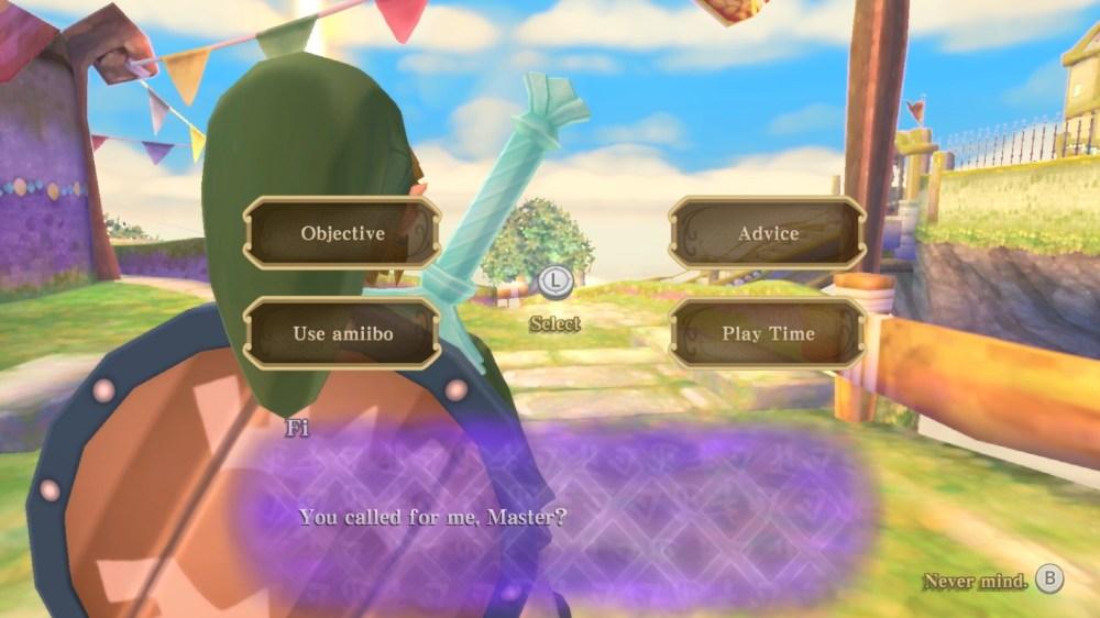 Legend of Zelda Skyward Sword HD: Cómo escanear amiibo