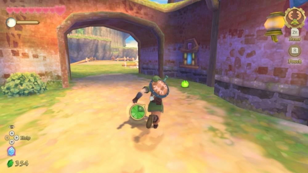Cómo esprintar y correr más rápido en Legend of Zelda Skyward Sword HD