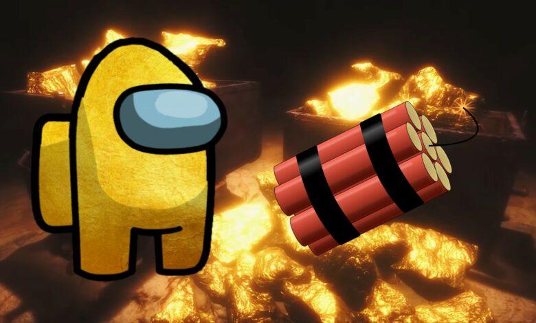 Llega un nuevo juego cooperativo a Steam: Remembering Among Us con buscadores de oro y dinamita