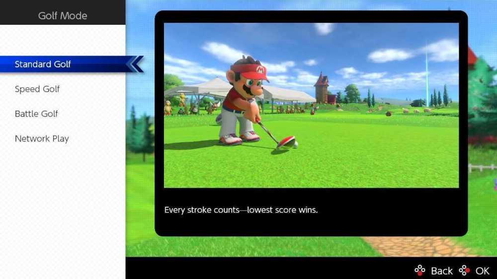 Mario Golf Super Rush Multijugador