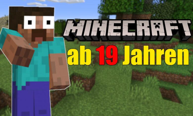 Minecraft se considera el juego perfecto para niños: en un país solo se lanza a partir de los 19 años