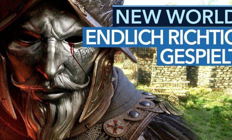 New World aludido: El último evento sorprendió a GameStar - video del juego