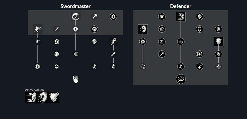 Espada de tanque de mazmorra del nuevo mundo