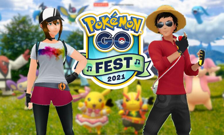 Pokémon GO: Ticker en vivo para GO Fest 2021 - Sábado con Habitaten y Meloetta
