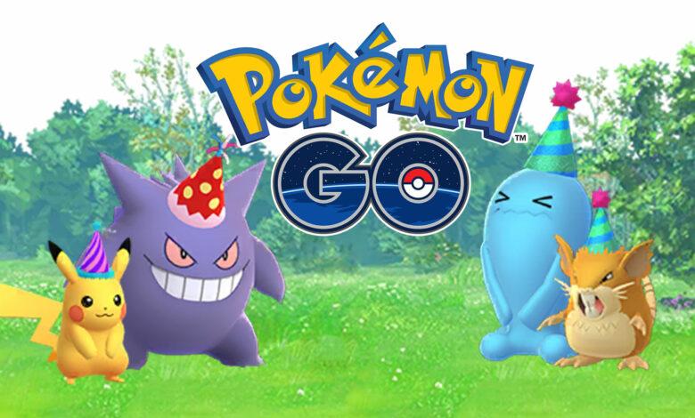 Pokémon GO: la celebración del aniversario del quinto cumpleaños comienza mañana; se conocen la fecha de inicio y la duración