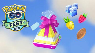 Pokémon GO: los regalos patrocinados se envían en globos, ¿qué hay en él?