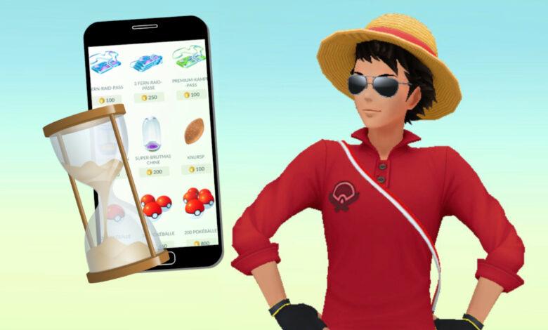 Pokémon GO tiene problemas con la tienda en este momento: mejor planificar a tiempo para el GO Fest