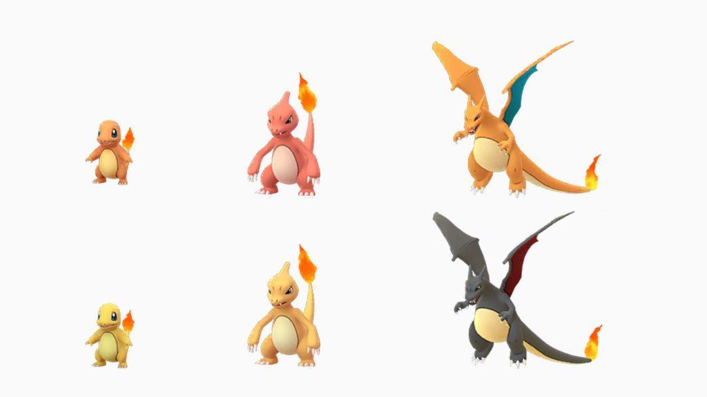 Pokemon Go Charmander Brillante