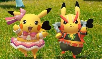 Pokémon GO Estrella de rock Estrella del pop Pikachu