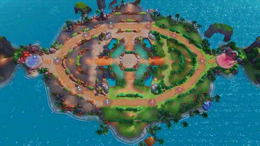 Mapa de Pokemon Unite